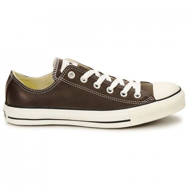 Converse All Star Leather Ox Brown Women's Shoes