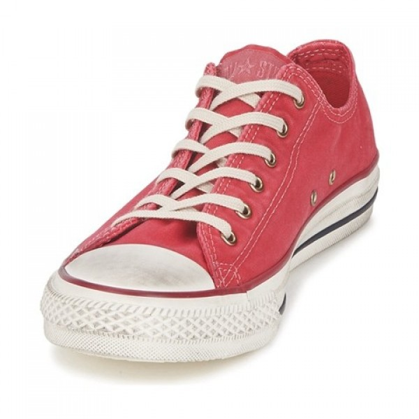 Converse All Star Washed Ox Tango Red Women's Shoes