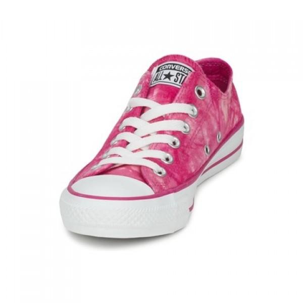 Converse All Star Tie Dye Ox Eglantine White Women's Shoes