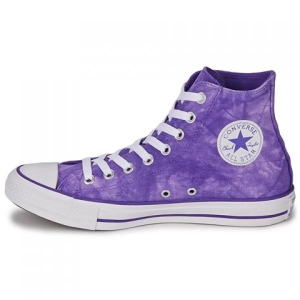 Converse All Star Hero Tie Dye Hi Nightshade White Women's Shoes