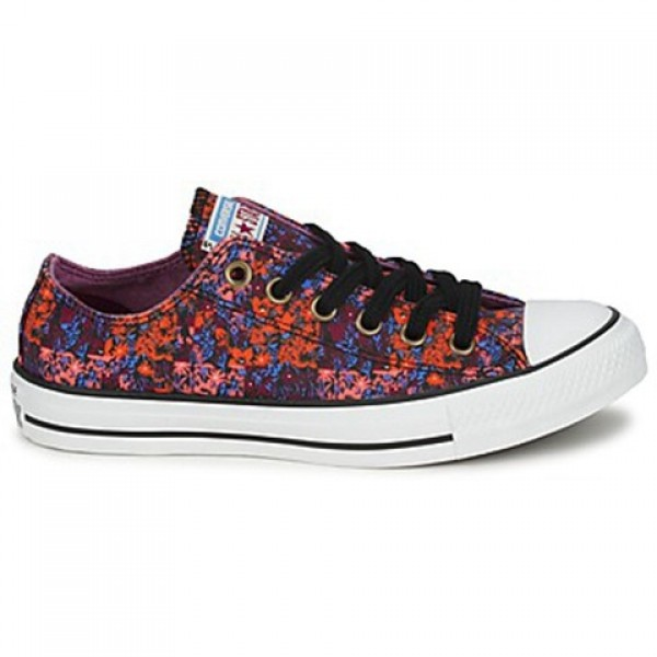 Converse All Star Floral Ox Red Multi Women's Shoe...