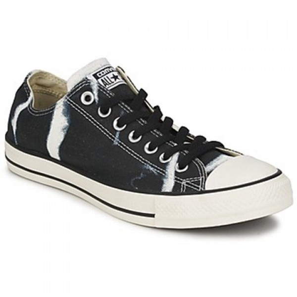 Converse All Star Bleach Black Women's Shoes