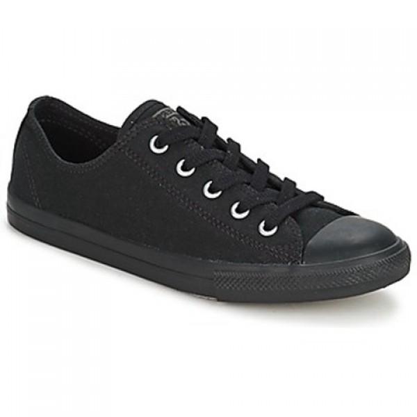 Converse All Star Dainty Ox Black Mono Women's Shoes