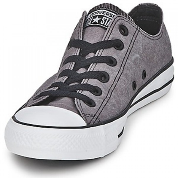 Converse All Star Basic Vintage Ox Charcoal Grey Women's Shoes
