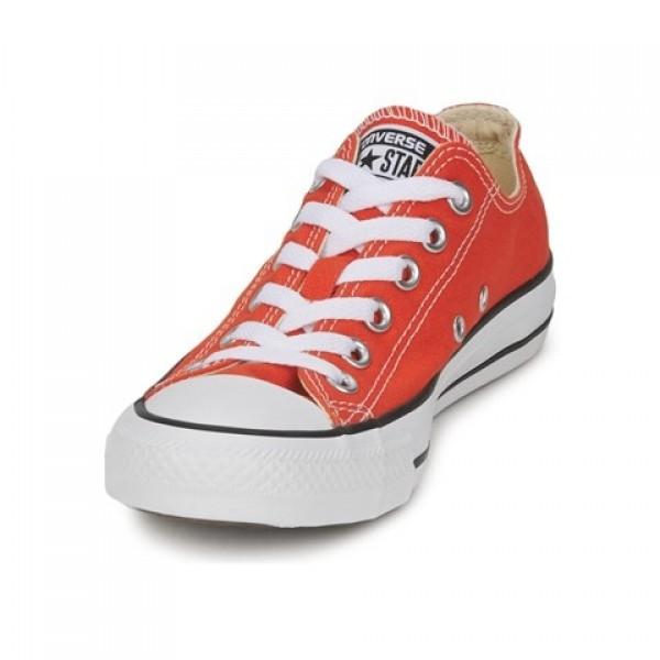 Converse All Star Season Ox Orange Pumpkin Women's Shoes