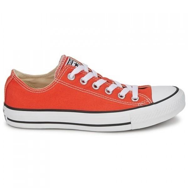Converse All Star Season Ox Orange Pumpkin Women's...