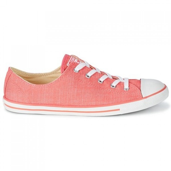 Converse All Star Dainty Denim Ox Carnival Pink Wh...