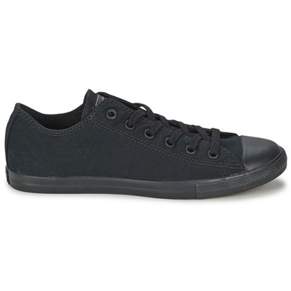 Converse All Star Lean Ox All Black Women's Shoes
