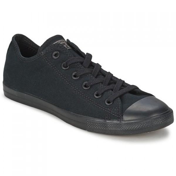 Converse All Star Lean Ox All Black Women's Shoes