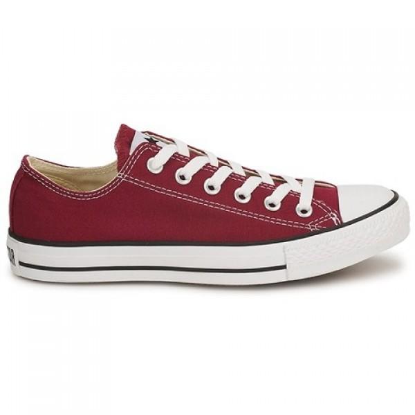 Converse All Star Ox Bordeaux Women's Shoes