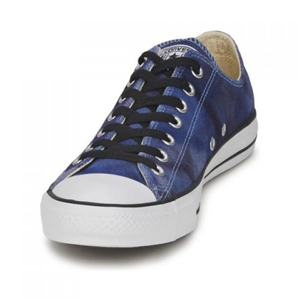Converse All Star Tie Dye Blue Women's Shoes