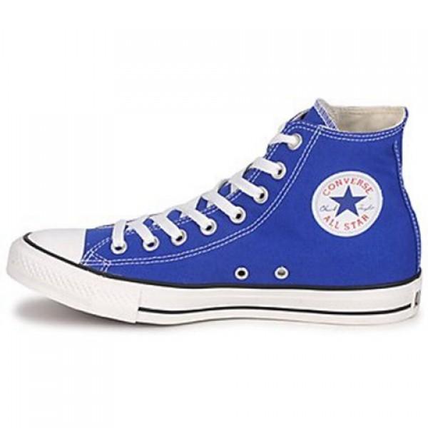 Converse All Star Hi Blue Petant Men's Shoes