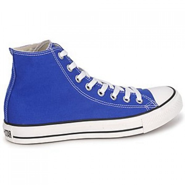 Converse All Star Hi Blue Petant Men's Shoes