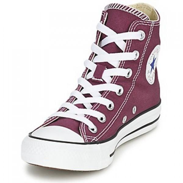 Converse All Star Seall Staron Hi Purple Men's Shoes