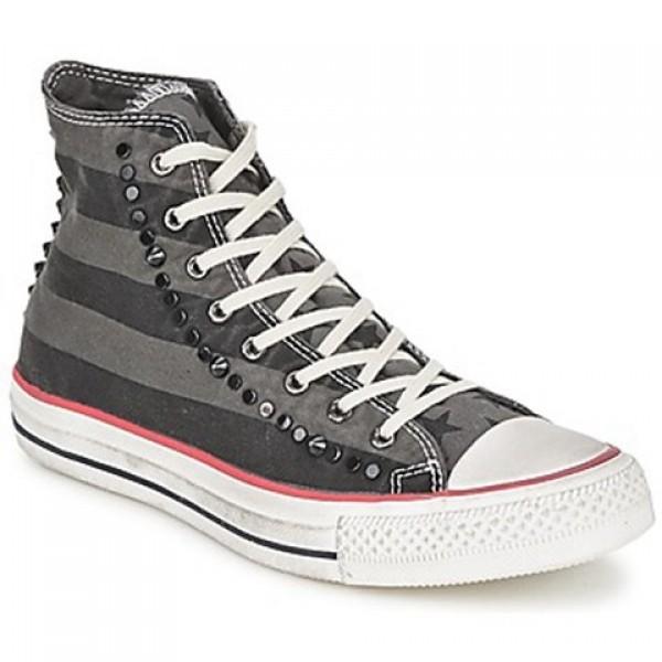 Converse All Star Flag Hi Grey Black Men's Shoes