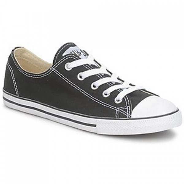 Converse All Star Dainty Canvas Ox Black Women's Shoes