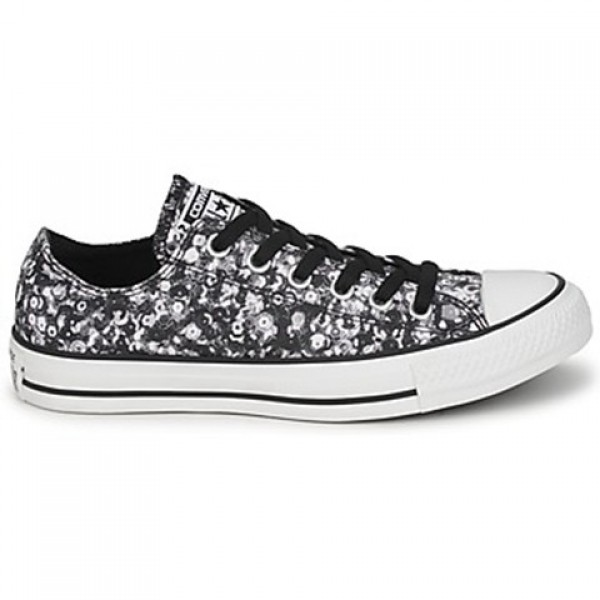 Converse All Star Sequin Ox Multi Black Women's Shoes