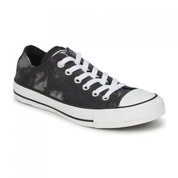 Converse All Star Tie Dye Ox Black White Women's Shoes