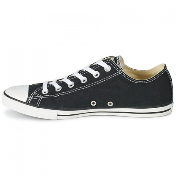 Converse All Star Lean Ox Black Women's Shoes