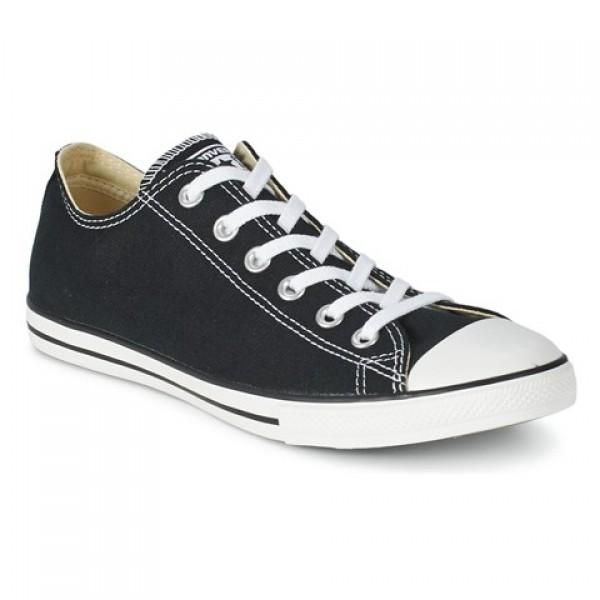 Converse All Star Lean Ox Black Women's Shoes
