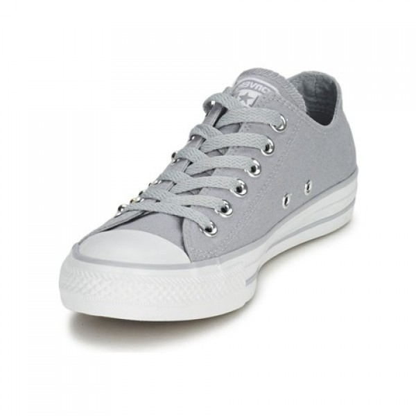Converse All Star Studs Ox Grey Women's Shoes
