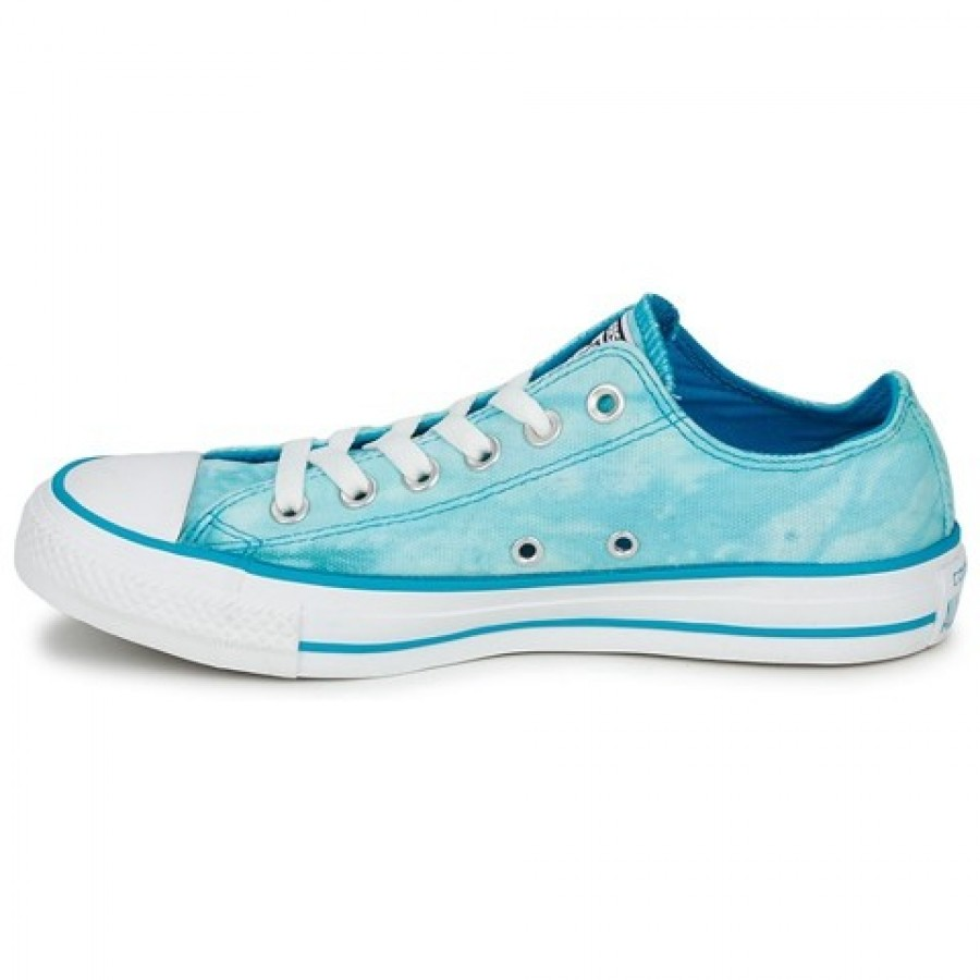 c6e7c62746be Converse All Star Tie Dye Ox Turquoise White Women s Shoes - M00000062