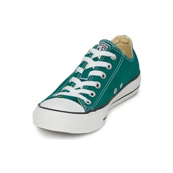 Converse All Star Seasonal Ox Alpine Green Women's Shoes