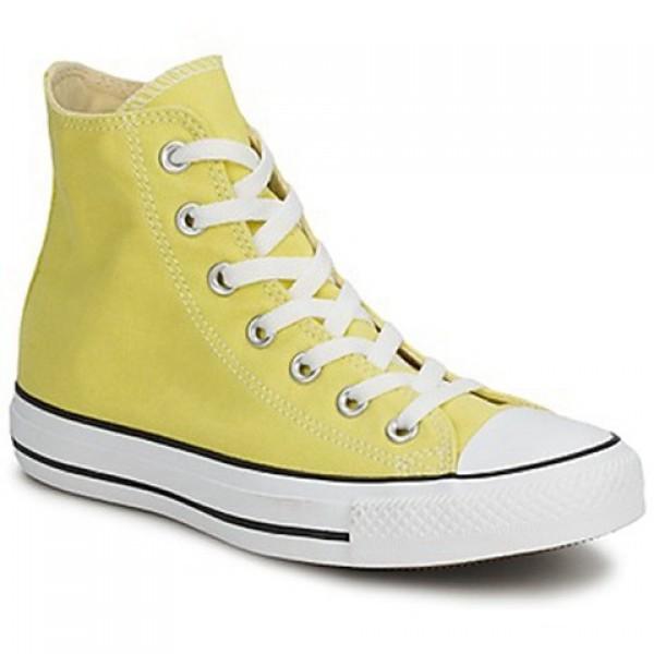 Converse All Star Hi Yellow Pale Men's Shoes