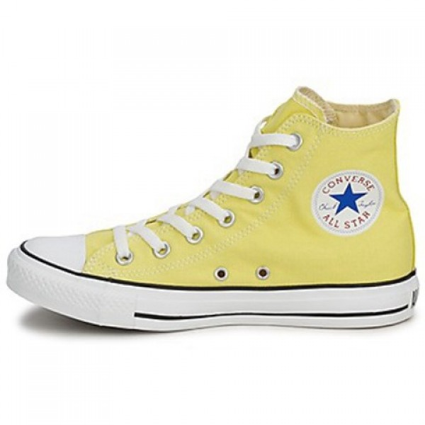 Converse All Star Hi Yellow Pale Men's Shoes