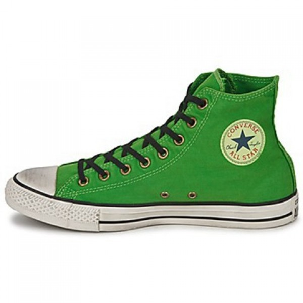 Converse All Star Well Worn Hi Green Men's Shoes
