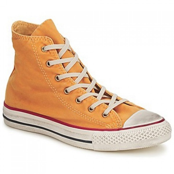 Converse All Star Fashion Washed Hi Yellow Gold Men's Shoes