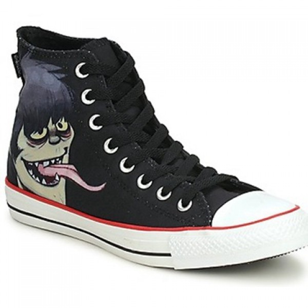 Converse All Star Gorillaz Hi Black Men's Shoes