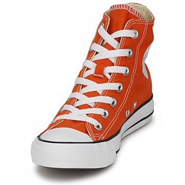 Converse All Star Season Hi Orange Men's Shoes