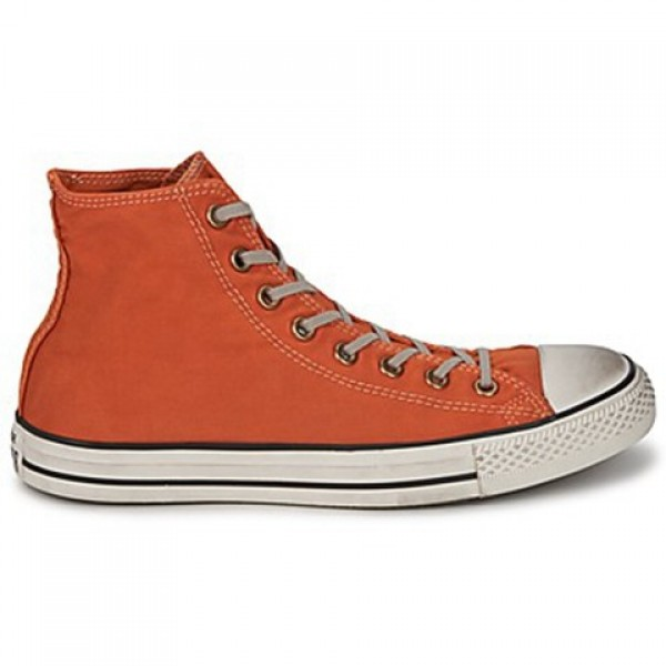 Converse All Star Washed Twill Stamp Hi Bronze Lus...