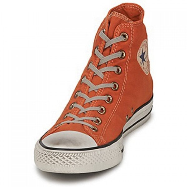 Converse All Star Washed Twill Stamp Hi Bronze Luster Men's Shoes