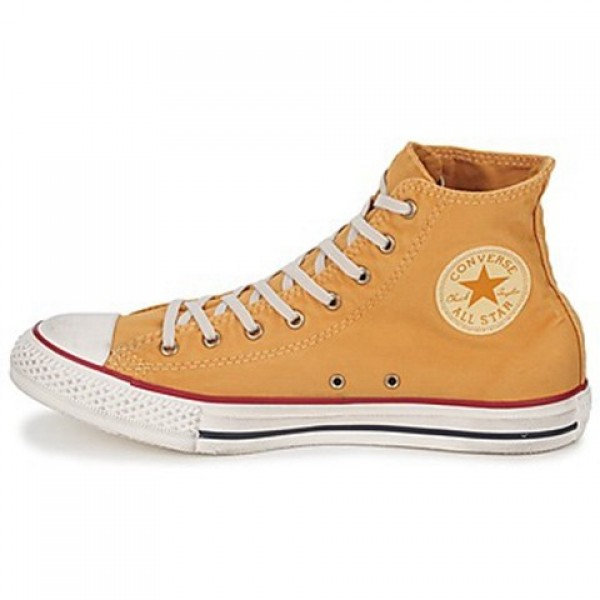 Converse All Star Washed Hi Butterscotch Men's Shoes