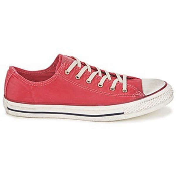 Converse All Star Washed Ox Tango Red Women's Shoe...