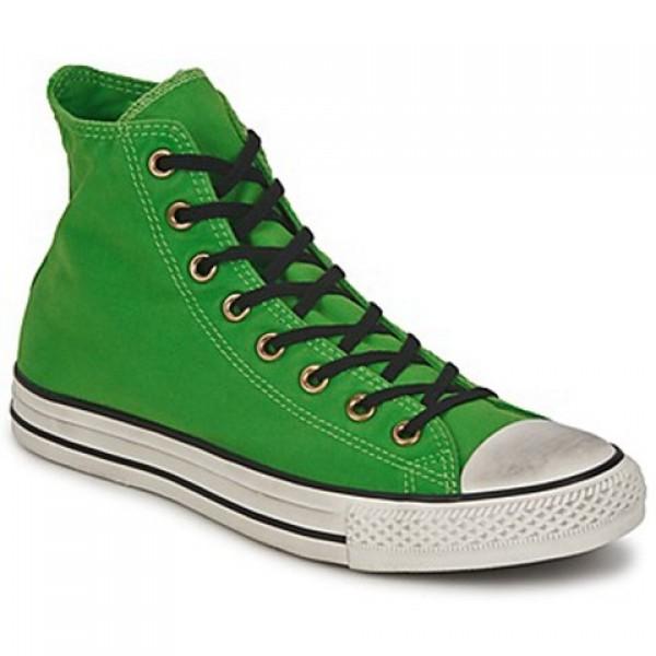 Converse All Star Well Worn Hi Green Women's Shoes