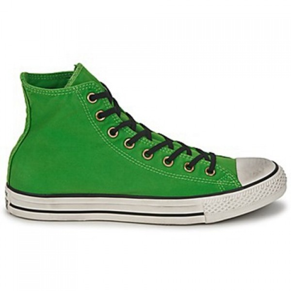 Converse All Star Well Worn Hi Green Women's Shoes