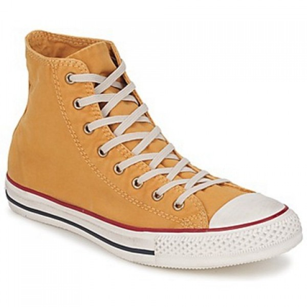 Converse All Star Washed Hi Butterscotch Women's Shoes