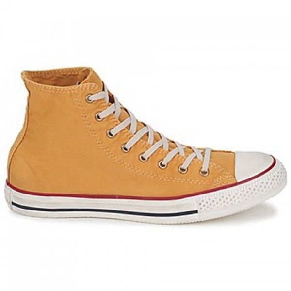 Converse All Star Washed Hi Butterscotch Women's S...