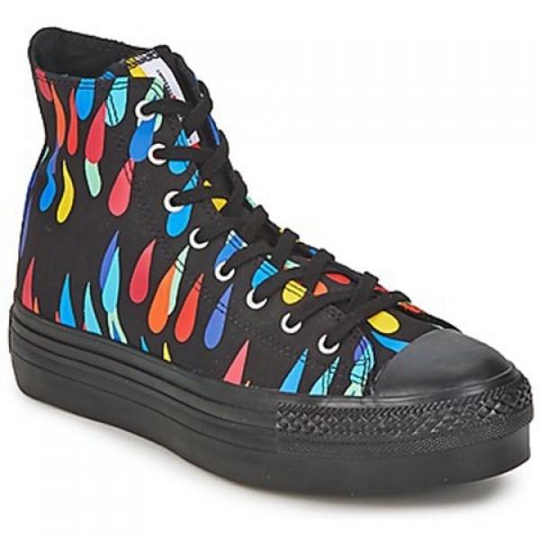 Converse All Star Platform Marimekko Hi Black Multi Women's Shoes