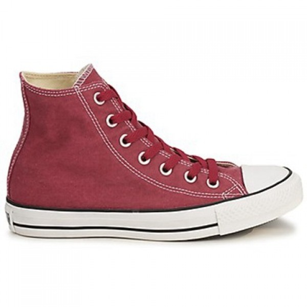 Converse All Star Basic Washed Hi Red Brick Women'...
