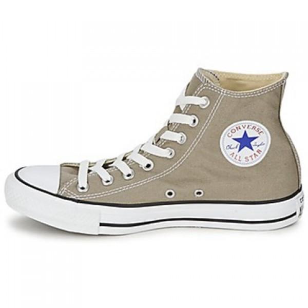 Converse All Star Season Hi Old Silver Women's Shoes
