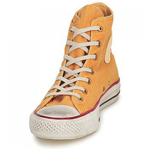 Converse All Star Fashion Washed Hi Yellow Gold Women's Shoes