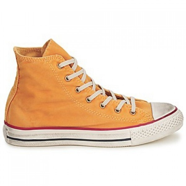 Converse All Star Fashion Washed Hi Yellow Gold Wo...