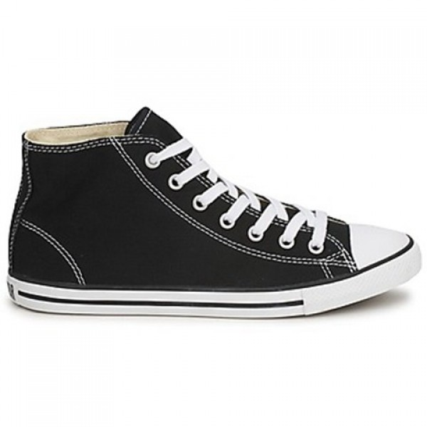 Converse All Star Dainty Basic Mid Black Women's S...