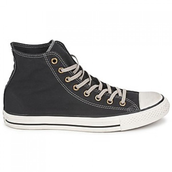 Converse All Star Well Worn Hi Black Women's Shoes