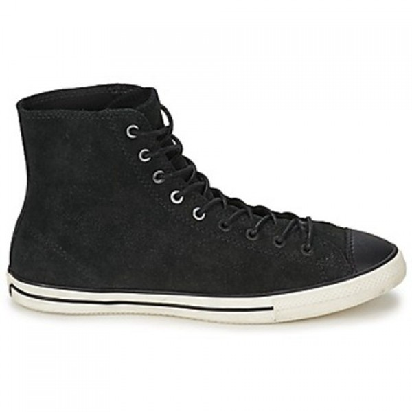 Converse All Star Fancy Leather Hi Black Women's S...