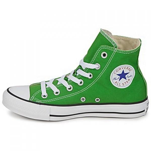 Converse All Star Season Hi Green Apple Women's Shoes
